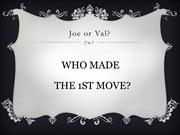 Joe & Val Trivia Game