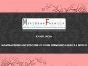 Kitchen Textile Manufacturer - Kitchen Fabric Exporter India