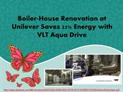 Boiler-House Renovation at Unilever