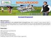 Amrapali Kingswood Lifestyle Luxury Homes Call@8800495550
