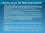 denim jeans on sale