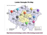 Animated London Pin Map