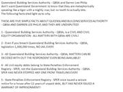 DARREN LEE PHILIP AND QUEENSLAND BUILDING SERVICES AUTHORITY -QBSA, DO