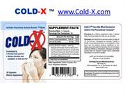 COLD-X ™ Cold and Flu Prevention Formula*