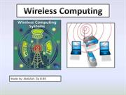 Wireless Computing