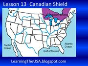Learning the USA Lesson 13 Canadian Shield Slide Show
