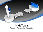 3d_Man_Holds_Puzzle_To_Reach_Goal_PowerPoint_Templates_PPT_Themes_And_