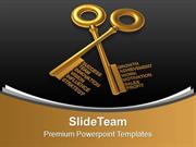 Golden_Keys_Combing_Business_Concept_PowerPoint_Templates_PPT_Themes_A