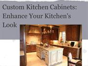 Enhance Your Kitchen's Look