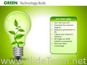Find the Green Idea For Technology Revolution