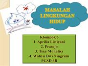 masalah lingkungan hidup