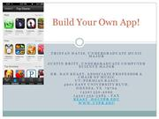 Build Your Own App