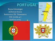 PORTUGAL reyna and jerferson