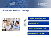 Stratbeans Product Offerings