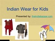 Traditional Indian outfit for kids