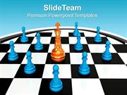 Chess_King_Between_Pawns_Leadership_PowerPoint_Templates_PPT_Themes_An