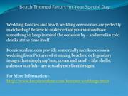 Beach Themed Favors for Your Special Day