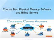 Choose Best Physical Therapy Software and Billing Software