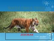 Endangered Animals Jeremiah
