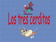 Los Tres Cerditos with words