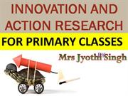 INNOVATION & ACTION RESEARCH PROJECT