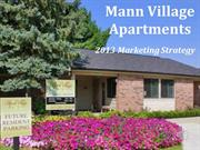 Mann Village Marketing Strategy 2013