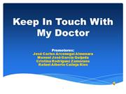 Presentación Keep In Touch With My Doctor v2