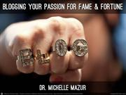 Blogging Your Passion