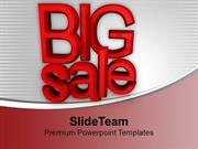 Big Sale Festive Season Heavy Discounts PowerPoint Templates PPT Theme