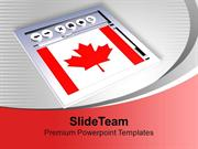 Canadian Browser Internet PowerPoint Templates PPT Themes And Graphics