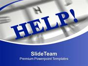 3d Help Illustrating Computer Phobia Help PowerPoint Templates PPT The