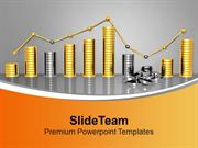 Bar Graph Illustrating Concept Of Loss PowerPoint Templates PPT Themes