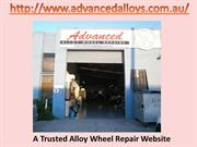 Information about Alloy Wheel Restoration Process