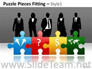 Puzzle Piece Diagram For Human Resource