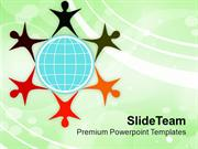 Illustration Of Diverse Community PowerPoint Templates PPT Themes And