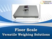 Floor Scale - Versatile Weighing Solutions