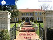 Rent To Buy House