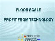Floor scale - profit from technology