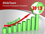 2013 Year Of Business Profit PowerPoint Templates PPT Backgrounds For