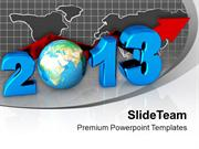 Business Concept New Year 2013 Globe PowerPoint Templates PPT Backgrou