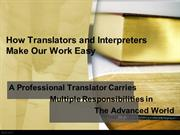 Proven Translation and Interpreting Services