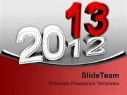 Christmas 2013 New Years Holidays PowerPoint Templates PPT Backgrounds