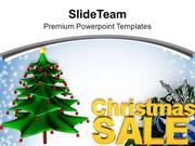 Christmas Sale Holidays Background PowerPoint Templates PPT Background