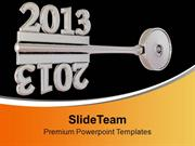 Concept Of Grey Key Mirror Symbol PowerPoint Templates PPT Backgrounds