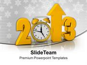 Creative New Year 2013 Background PowerPoint Templates PPT Backgrounds