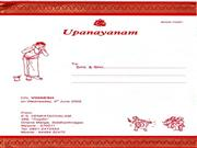Vignesh-upanayanam Invitation