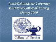 South Dakota State University PPT profes