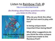 The Rainbow Fish and Romero Britto Art