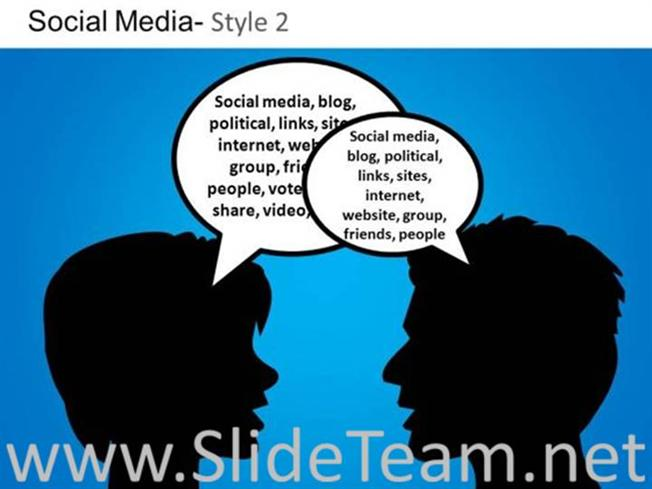 social media concepts ppt design powerpoint diagram
