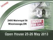 Open House 25-26 May 2013